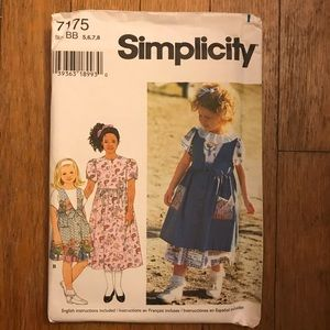Simplicity Sewing Pattern - Childrens - UNCUT